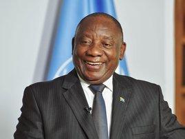 Cyril Ramaphosa at UN September 2021
