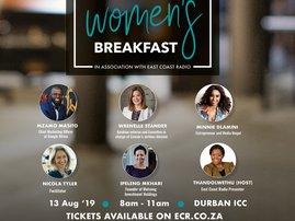 FNB Business Women's Breakfast in association with East Coast Radio / Supplied