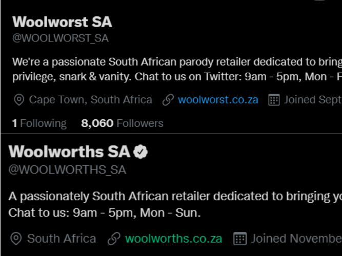 SEE: When you get fired for doing something good thing for a customer. The Woolworst Parody...
