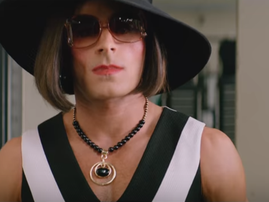 Zac Efron in drag in Baywatch