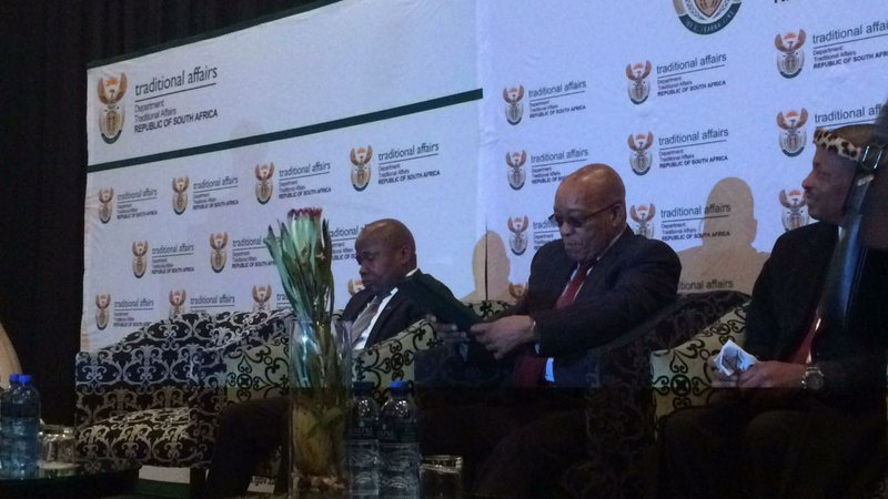Don't take the money, Zuma tells land claimants