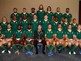 South Africa Springbok Team Photo / Steve Haag Sports Hollywoodbets