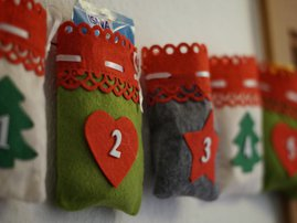gifts in stocking