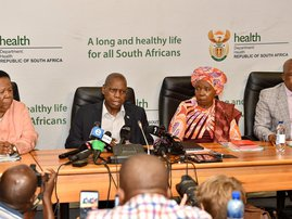 NATJOINT ZWELI MKHIZE AND OTHER MINISTERS CORONAVIRUS BRIEFING