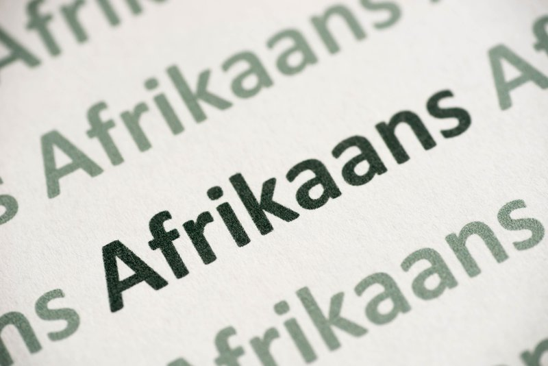 picture of afrikaans