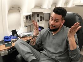 AKA in a plane