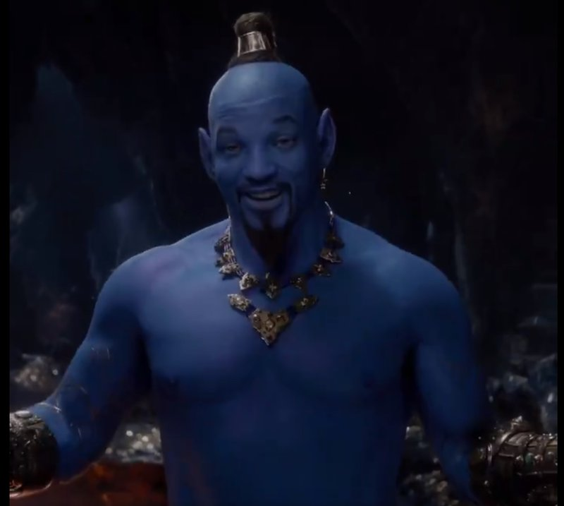 Fans want to put the Aladdin genie back in the bottle
