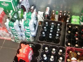 Alcohol beer arrest