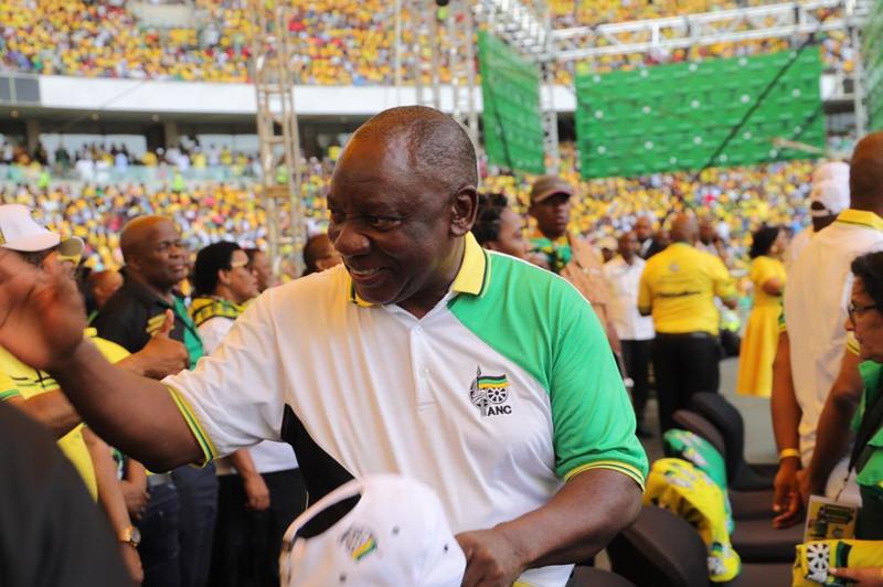 Cyril Ramaphosa ANC Manifesto