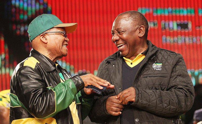 Jacob Zuma Cyril Ramaphosa_ddw