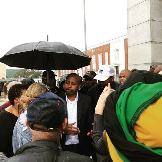 Andile Lungisa to spend first night behind bars