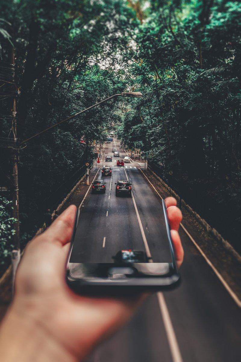 road block / pexels