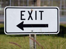 exit / pexels
