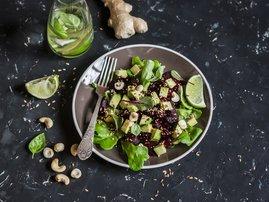 Summer crunch salad - Avocado Salad