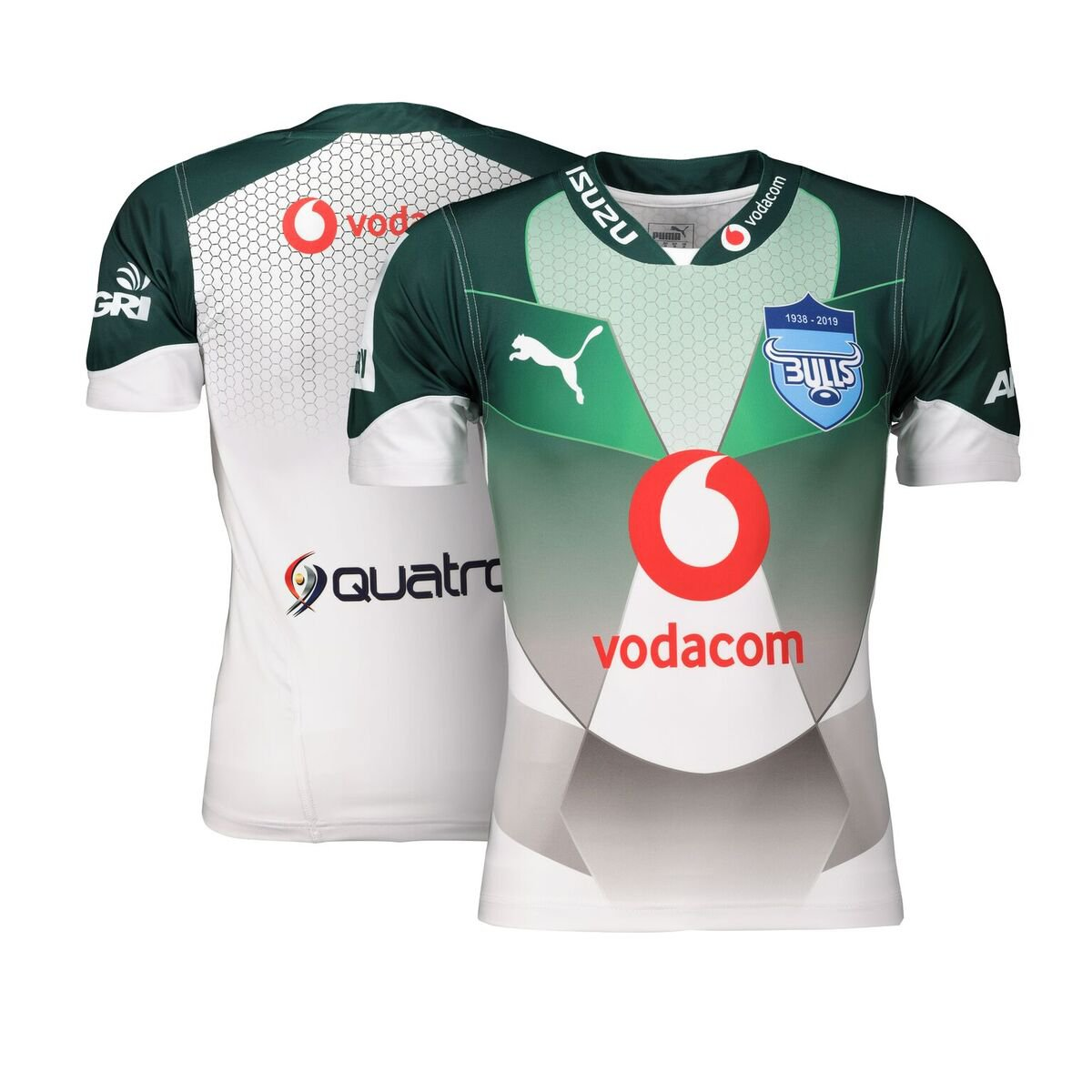 blue bulls away 2019 front and back