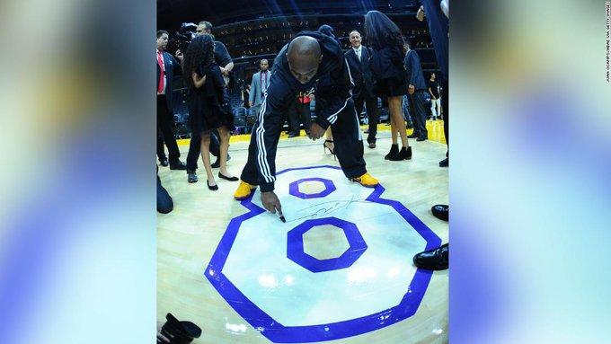 Kobe Bryant memorabilia