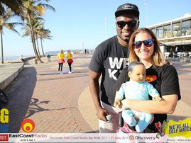 #KeriHasABaby: baby East charmed all the ladies at #DurbanBigWalk
