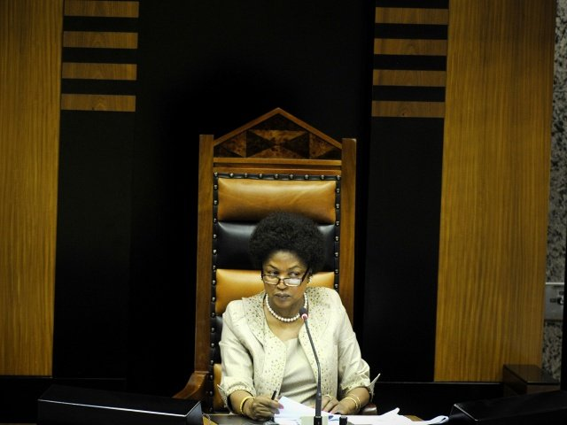 South Africa's parliament speaker to consider Zuma no-confidence vote request