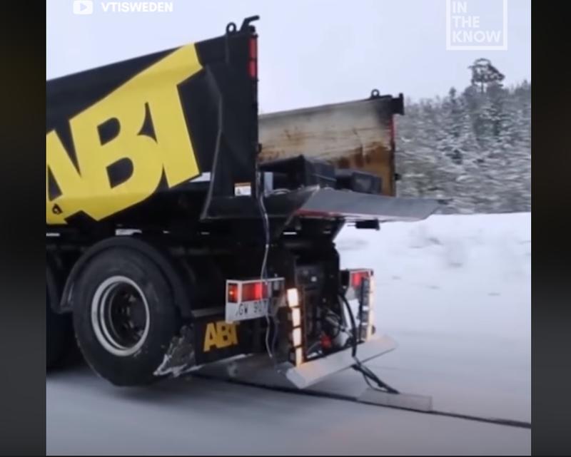 battery charging road
