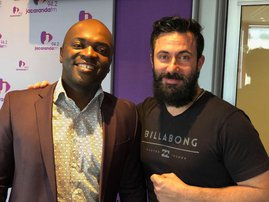 Executive Mayor of the City of Tshwane, Solly Msimanga on Breakfast with Martin Bester