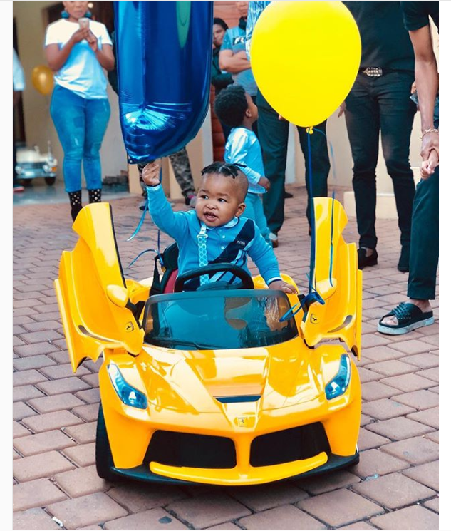 Baby Billionaire Kunene Had A Better Birthday Party Than