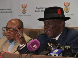 Bheki Cele on covid19 briefing