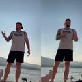 "WATCH: Stranger verbally harasses women wearing ""pornographic"" bikinis on beach"