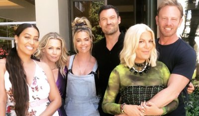 'Beverly Hills, 90210' cast celebrate upcoming reboot