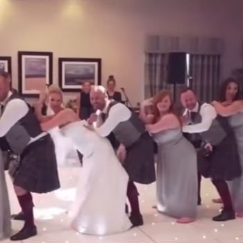 Youtube Wedding Dance | Couple Does A Beyonce Dance Routine On Wedding Day