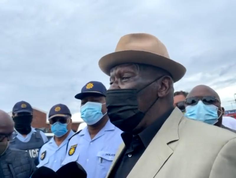Police Minister Bheki Cele Gqeberha violence