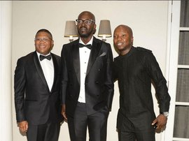 PICS: Black Coffee's star studded birthday bash