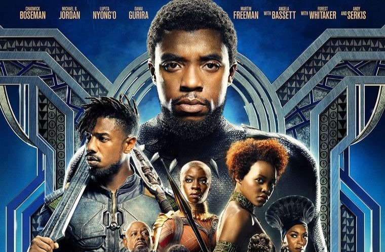 Black Panther movie poster - cropped