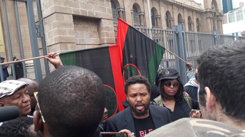 Court interdicts BLF, Mngxitama from threatening and assaulting journalists