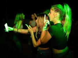 Women clubing