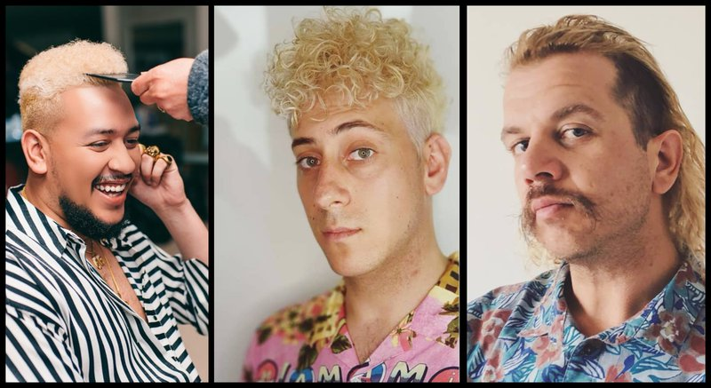 Schalk Parow And Aka Is This The New Big Summer Hair Trend