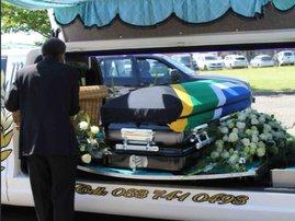 Bheki Ntuli funeral