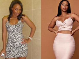 Boity 10 year throwback challenge