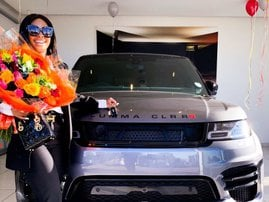 Boity new car - Range Rover