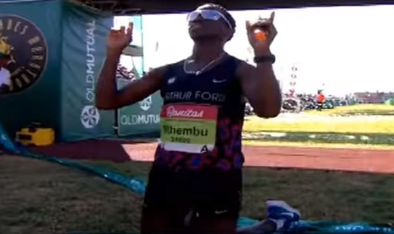 Bongmusa Mthembu wins his second Comrades Marathon