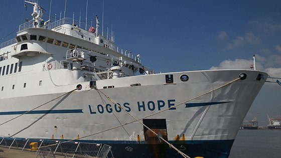 MV Logos Hope - floating book fair