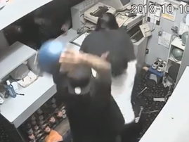 bowling alley fight