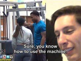 prasnk trainer in gym