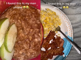 WATCH: A GF finds a video of her BF dissing the breakfast she made for him!