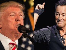 bruce springsteen drags Trump