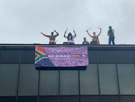 Springbok Supports Flag