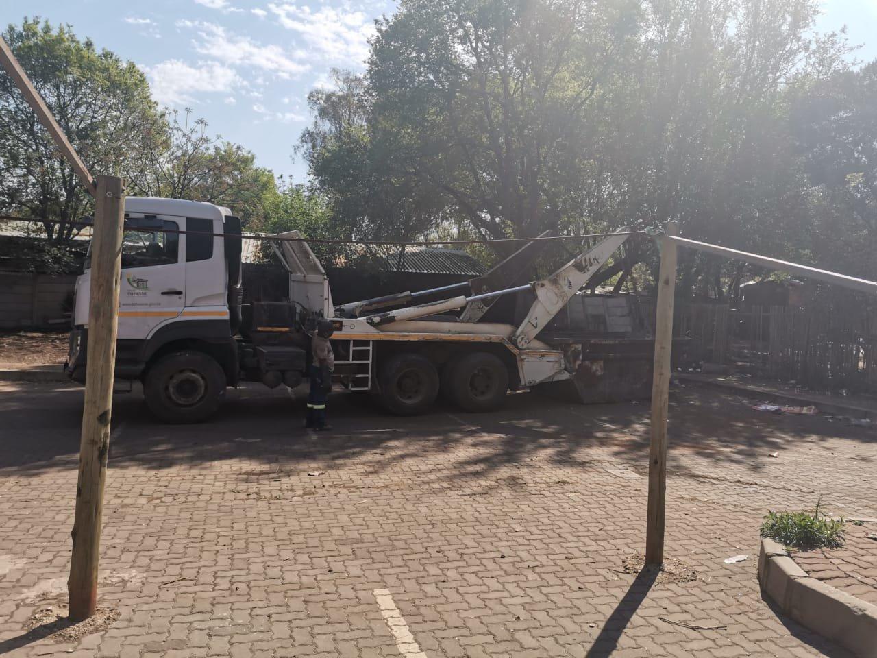 City of Tshwane dumping two