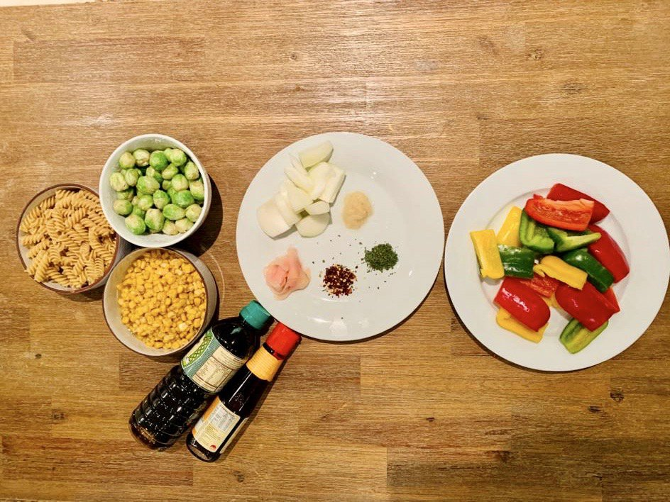 Ingredients for Elana's Stir-fry