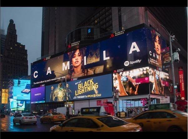 Camila Cabelo billboard
