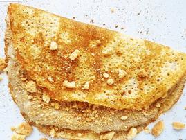Landi Govender's milk tart (melktert) pancakes
