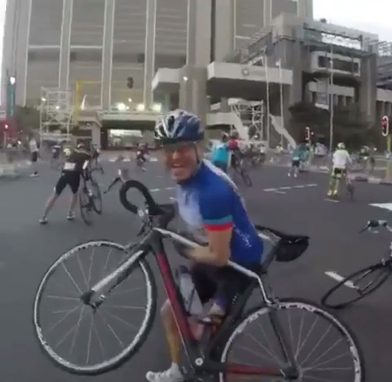 Cape Town wind cyclists